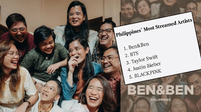 Ben&Ben is the Philippines' Most Streamed Artist of 2020 on Spotify
