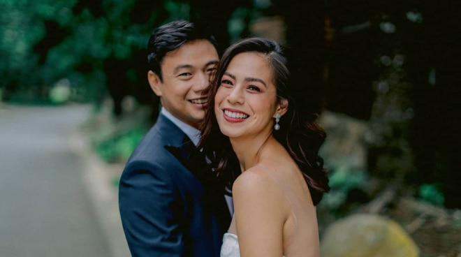 Bettina Carlos gets married 'twice and on the same day' to Mikki Eduardo