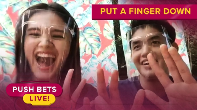 Kira Balinger, Grae Fernandez play 'Put A Finger Down' | PUSH Bets Highlights