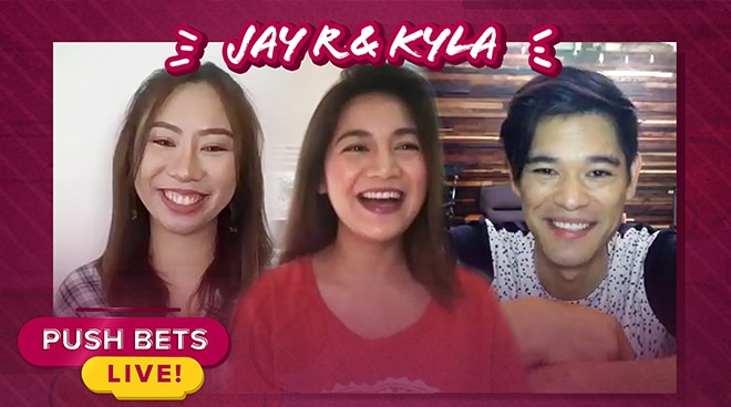 Jay R at Kyla, naging mag-on nga ba? | Push Bets Live