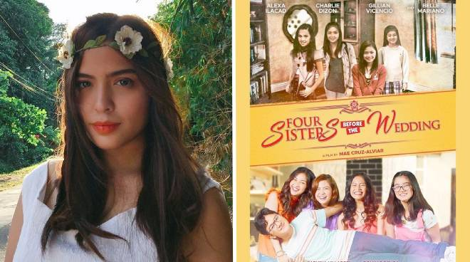 Alexa Ilacad, proud to be cast in Bea Alonzo's role in 'Four Sisters and a Wedding'
