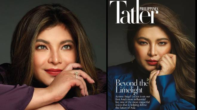 LOOK: Angel Locsin appears on the cover of 'Tatler PH'