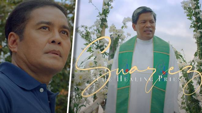 WATCH: Here's the full trailer for 'Suarez: The Healing Priest'