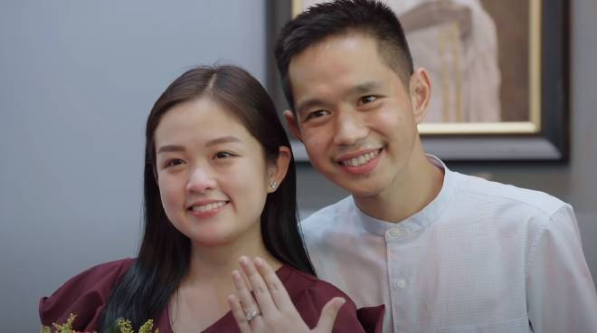 WATCH: How Trina 'Hopia' Legaspi's fiancé proposed to her