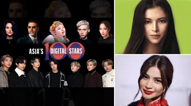 Kapamilya celebrities Anne Curtis and Angel Locsin among Forbes Asia's Digital Stars of 2020