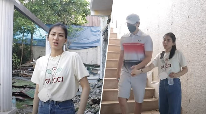 WATCH: Alex Gonzaga and Mikee Morada give a tour of site of future home