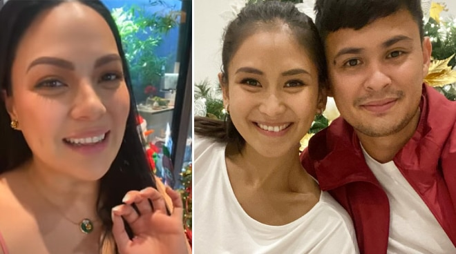 KC Concepcion tells Matteo Guidicelli: 'I'm so happy for Sarah and you'