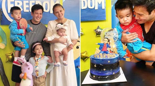 John Prats, Isabel Oli throw celebration for son's second birthday