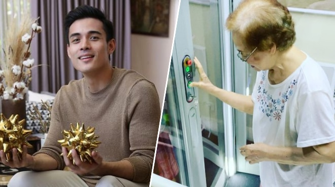 LOOK: Xian Lim has elevator installed for his grandmother at home