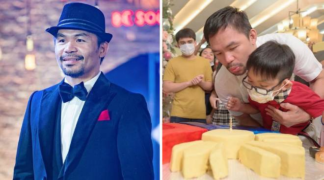 LOOK: Manny Pacquiao celebrates 42nd birthday in GenSan