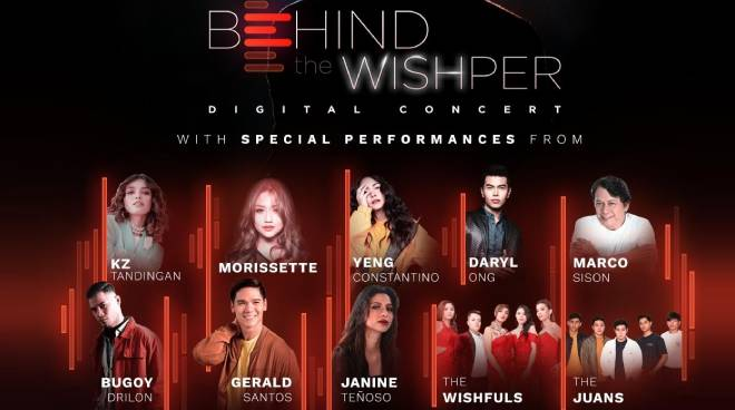 OPM A-listers tampok sa 'Behind the Wishper' concert