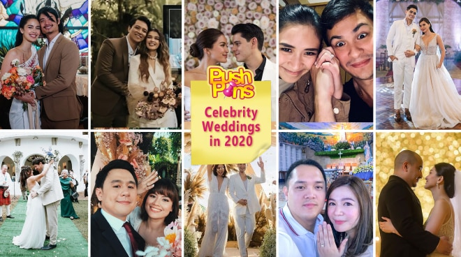 Celebrity Weddings in 2020 | Push Pins