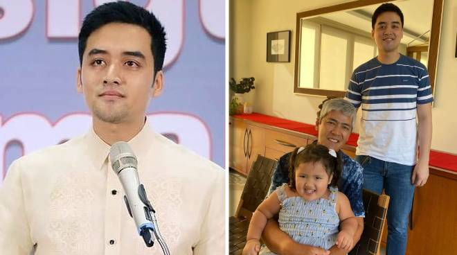 After 9 months, Vico Sotto reunites with father Vic on Christmas Eve