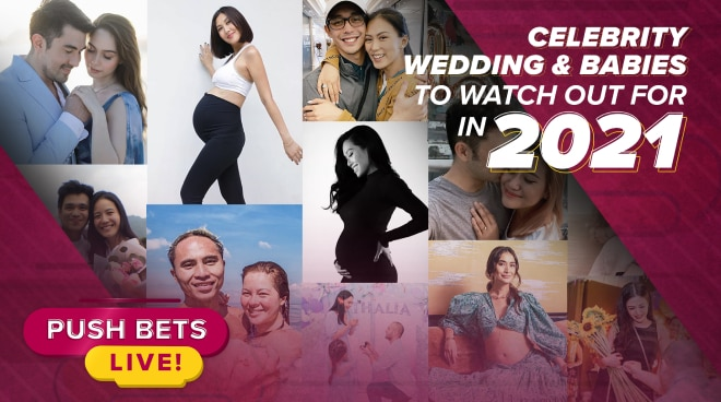 Celebrity weddings and babies to watch out for in 2021 | Push Bets Live