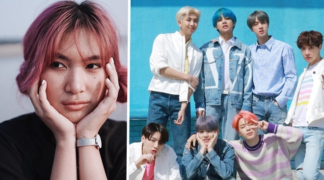 WATCH: Pinay singer turns emotional as K-Pop group BTS praises her 'Boy With Luv' cover
