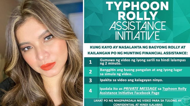 Angel Locsin launches assistance initiative for victims of Typhoon Rolly
