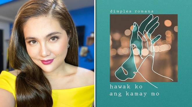 Dimples Romana is now a songwriter