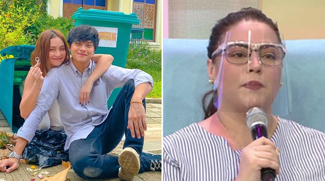 Karla Estrada shares KathNiel was traveling to Manila amid Typhoon Ulysses onslaught