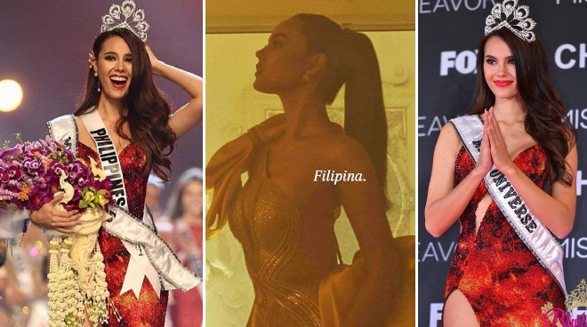 This is what Catriona Gray posted after Miss Universe Colombia pageant called her 'Australian by birth but represented PH'