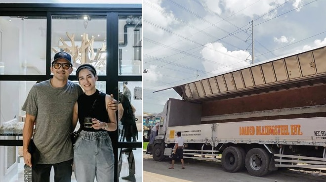 Jennylyn Mercado and Dennis Trillo to send 25-ton truck full of donations to Cagayan