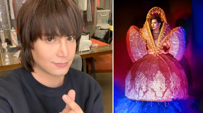 LOOK: Paolo Ballesteros designs 'Higantes Queen' national costume of Bb. Pilipinas candidate
