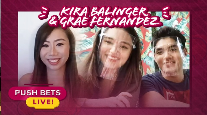 Kira Balinger, Grae Fernandez share their experience working with Maricel Soriano and other veteran actors | Push Bets Live