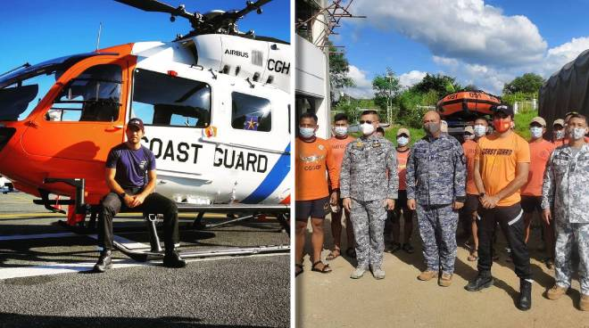 Gerald Anderson joins PH Coast Guard relief efforts in Isabela, Cagayan