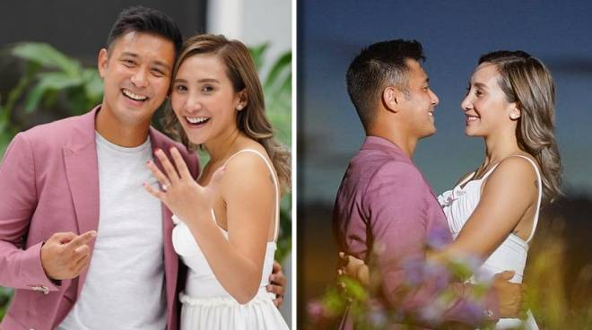 Rocco Nacino, Melissa Gohing now engaged
