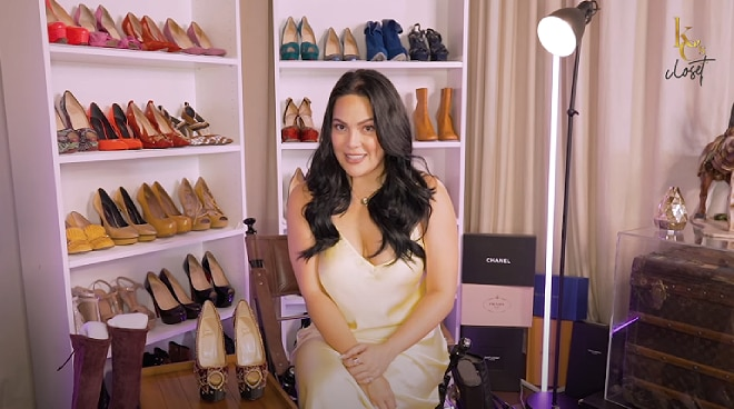 WATCH: KC Concepcion showcases her shoe collection