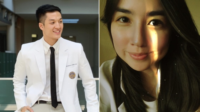 Former Kapamilya stars Alec Duñgo and Angeli Gonzales pass Medical Board Exam