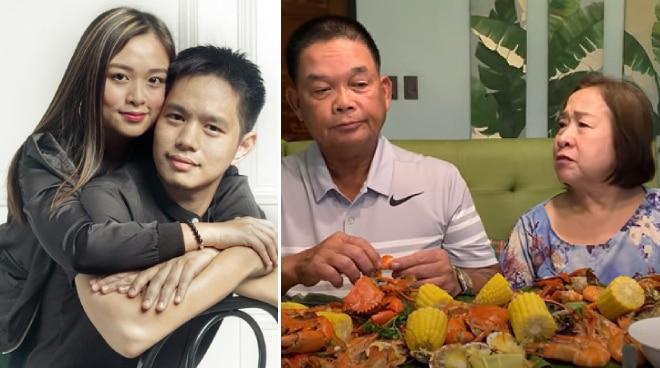 'Kailan pwede ikasal?': Fans ni Trina 'Hopia' Legaspi tinanong ang kanyang mga magulang
