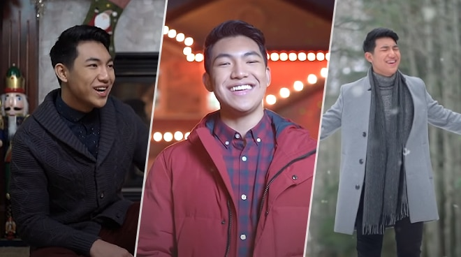 Darren Espanto directs and records music video for 'Believe in Christmas' in Canada