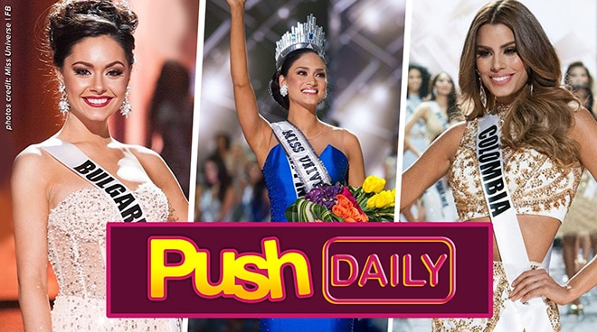 Miss Bulgaria, dinepensahan si Pia Wurtzbach mula sa 'ghost' comment ni Miss Colombia | PUSH Daily
