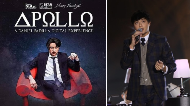 REVIEW: Daniel Padilla shines in his first digital concert 'Apollo: A Daniel Padilla Digital Experience'