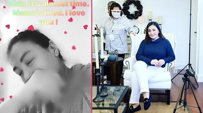 'Mama's tired': Sharon Cuneta announces that she is retiring soon