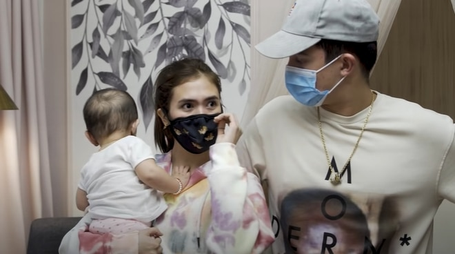 WATCH: Sofia Andres turns emotional over baby Zoe's nursery room transformation