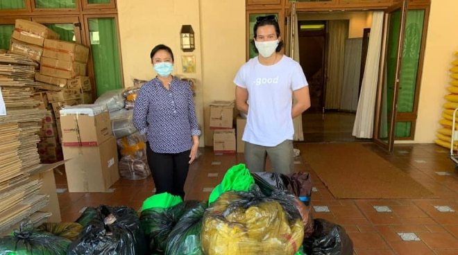Vice President Leni Robredo commends Enchong Dee's generosity and efforts amid pandemic