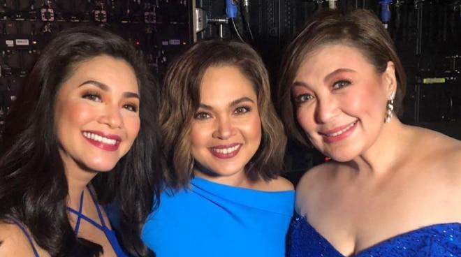 'Paano na pelikula nating tatlo ni Regine?' Judy Ann Santos asks Sharon Cuneta who is planning to retire
