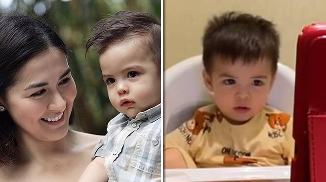 WATCH: Marian Rivera shares adorable video of son Sixto learning how to recite ABCs