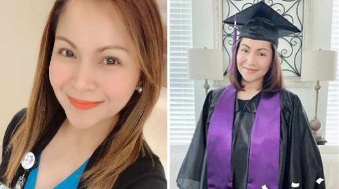 LOOK: Carol Banawa earns her Bachelor's Degree in Nursing before turning 40