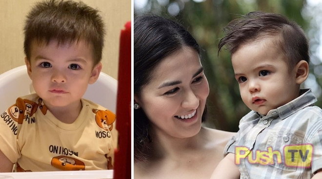 How cute! Marian Rivera and Dingdong Dantes' adorable son Sixto learns how to recite ABCs