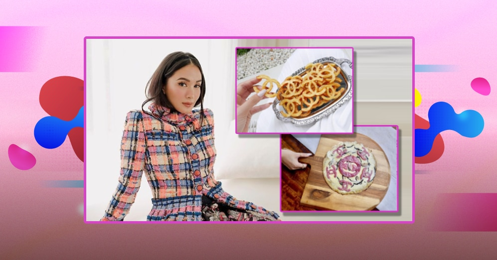 'Fries na sosyal': Heart Evangelista amuses netizens with her Chanel-inspired french fries