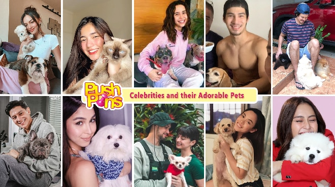 Celebrities and their Adorable Pets | Push Pins