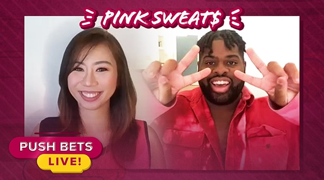 Pink Sweat$ talks about his music, shares inspiration behind his latest album | Push Bets Live