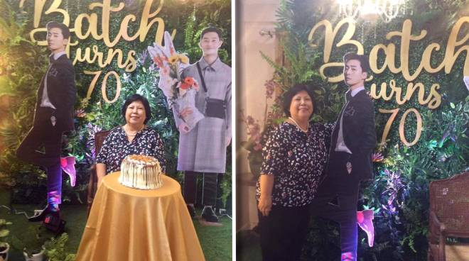 K-Drama fan who turned 70 years old celebrates birthday with a Park Seo-Joon-themed party