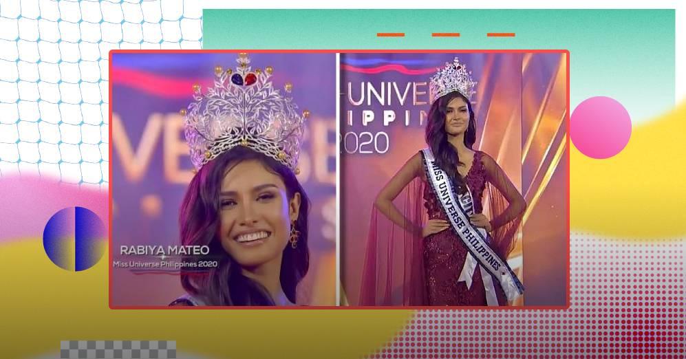 Iloilo's Rabiya Mateo crowned Miss Universe Philippines 2020