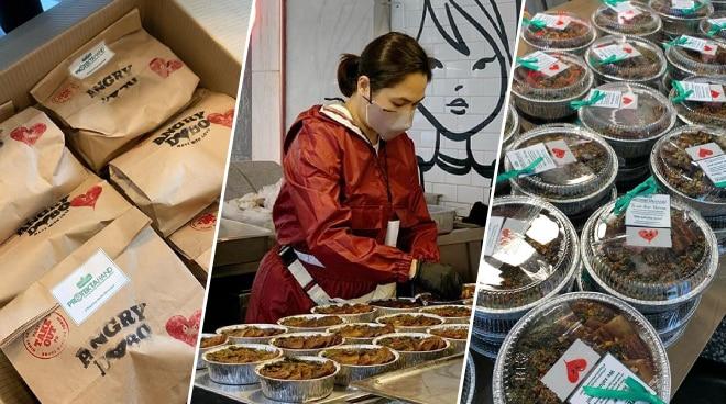 LOOK: Judy Ann Santos prepares food for frontliners amid Typhoon Quinta's onslaught