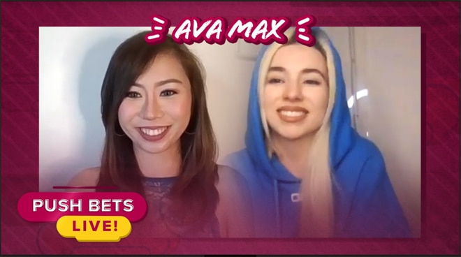 Ava Max talks about her debut album 'Heaven & Hell' | Push Bets Live