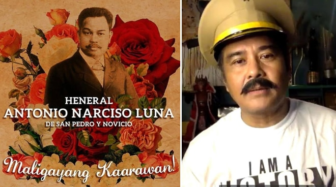 John Arcilla commemorates 154th birth anniversary of Heneral Luna