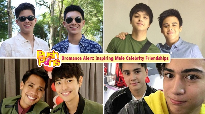 Bromance Alert: Inspiring Male Celebrity Friendships | Push Pins
